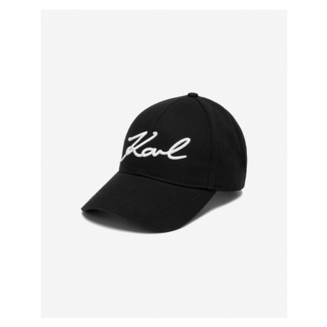 Karl Lagerfeld Signature Cap Black