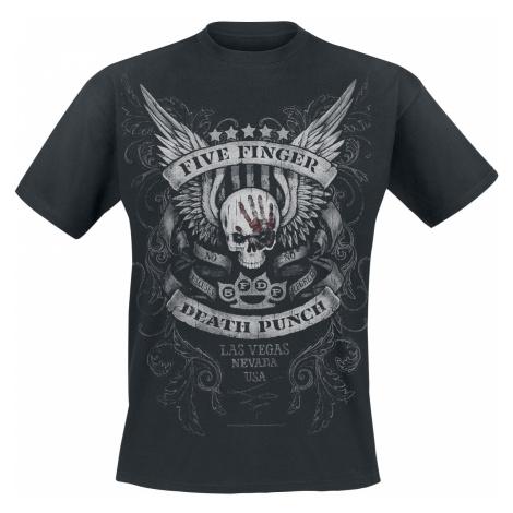Five Finger Death Punch - No Regrets - T-Shirt - black