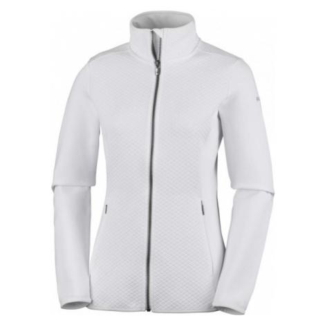 Columbia ROFFE RIDGE FULL ZIP FLEECE white - Women's fleece sweatshirt