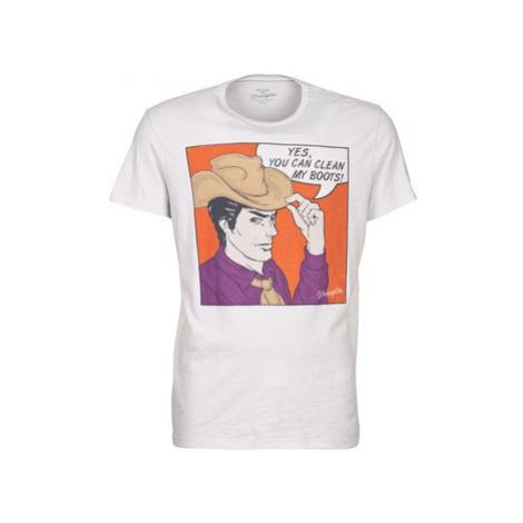 Wrangler POSTER men's T shirt in White