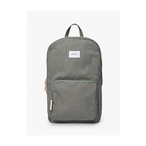 Sandqvist Kim Ground Organic Cotton Backpack, Dusty Green