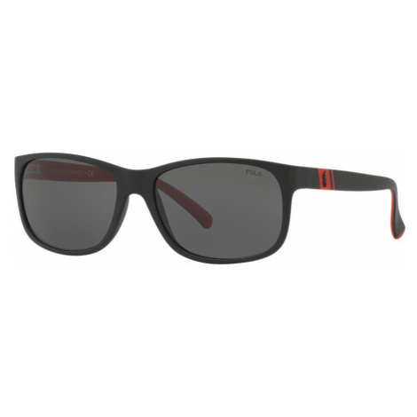 Polo Ralph Lauren Man PH4109 - Frame color: Black, Lens color: Grey-Black, Size 59-17/145