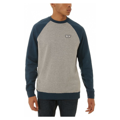 sweatshirt Vans Rutland III - Cement Heather/Gibralter Sea Heather - men´s