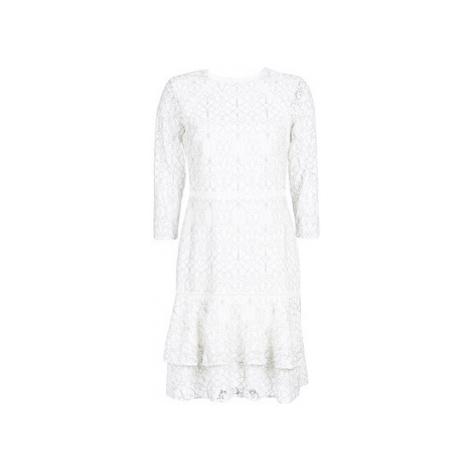 Lauren Ralph Lauren LONG SLEEVE-LACE DAY DRESS women's Dress in White