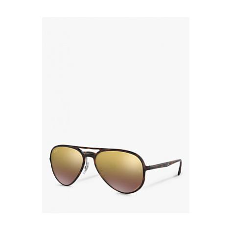 Ray-Ban RB4320CH Women's Polarised Aviator Sunglasses