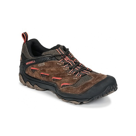 Merrell CHAMELON 7 LIMIT WTPF men's Shoes (Trainers) in Brown