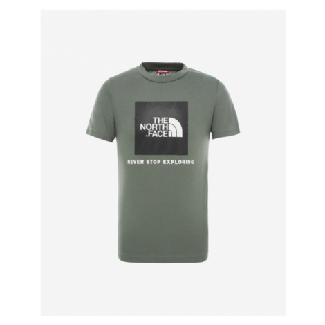The North Face Box Kids T-shirt Green