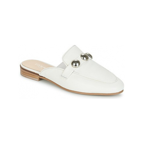 Jonak DIPAN women's Mules / Casual Shoes in White