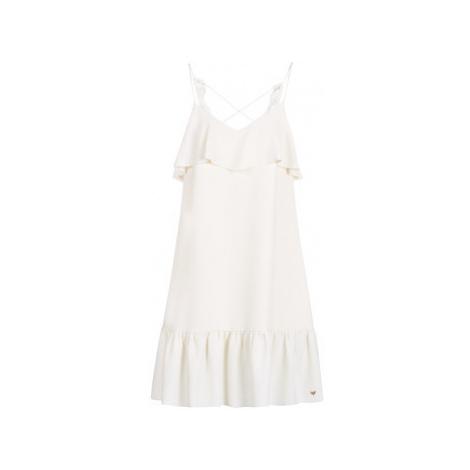 Les Petites Bombes AZITARBE women's Dress in White