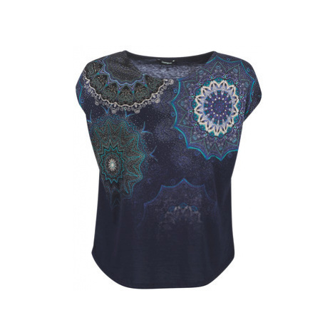 Desigual MARA women's T shirt in Blue
