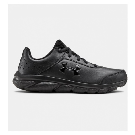 Primary School UA Assert 8 Uniform Synthetic Running Shoes Under Armour