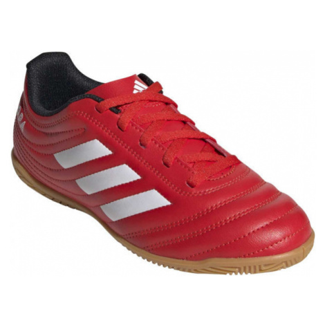 adidas COPA 20.4 IN J red - Kids' indoor shoes