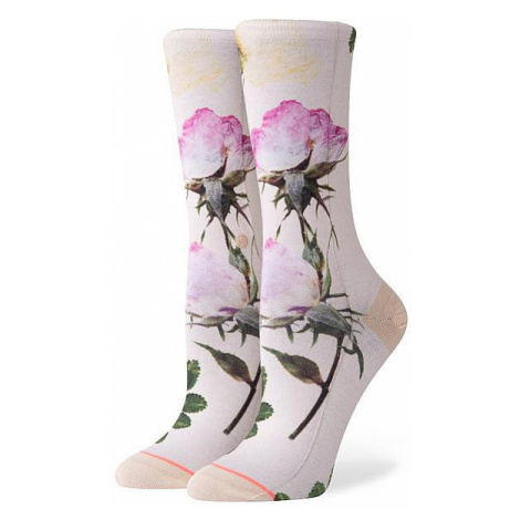 socks Stance Pressed Not Stressed - Off White - women´s
