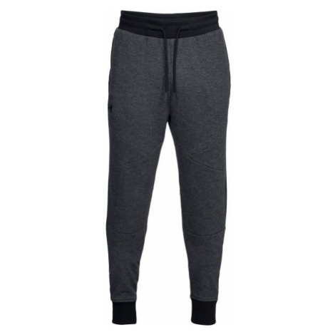 Under Armour UNSTOPPABLE 2X KNIT JOGGER dark gray - Men's sweatpants