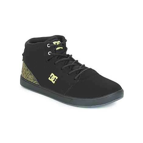 DC Shoes CRISIS HIGH SE B SHOE BK9 girls's Children's Shoes (High-top Trainers) in Black