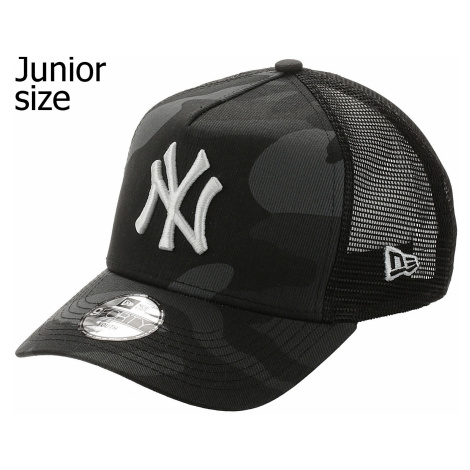 cap New Era 9FO AF Ess.Camo Trucker MLB New York Yankees Youth - Midnight Camo - unisex junior
