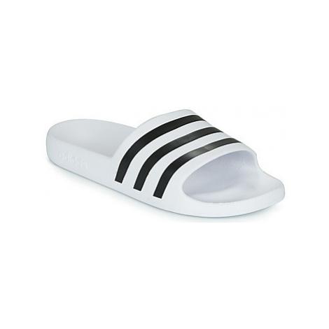 Adidas ADILETTE AQUA men's in White