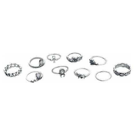 Wildkitten® - Bohemian Ring Set - Ring - silver-coloured