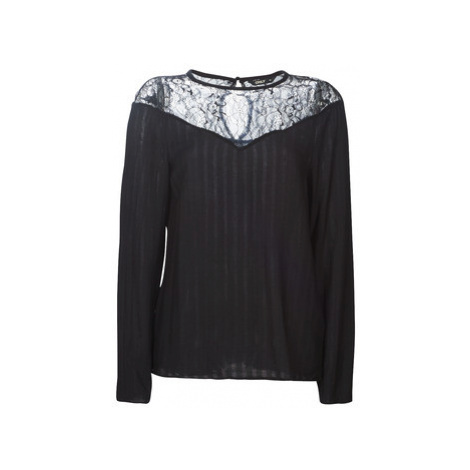 Only ONLKAROLINA women's Blouse in Black