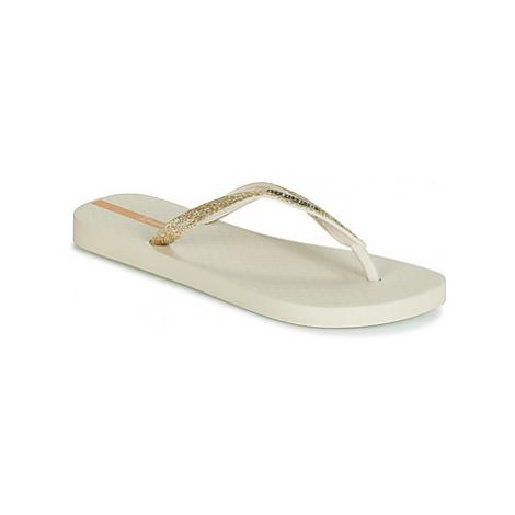 Ipanema LOLITA III women's Flip flops / Sandals (Shoes) in Beige