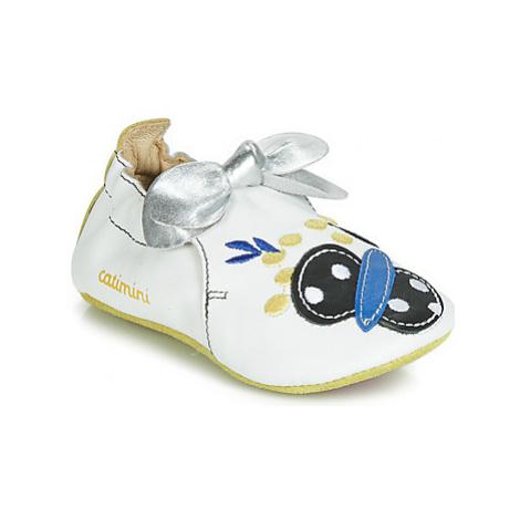 Catimini CATIVA girls's Children's Slippers in White
