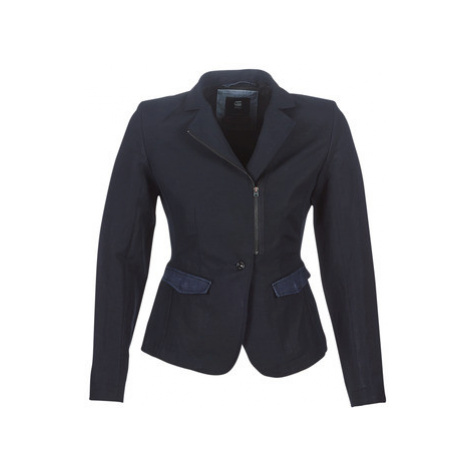 G-Star Raw RIMU ZIP BLAZER women's Jacket in Blue