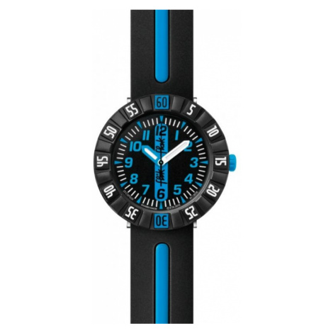 Childrens Flik Flak Blue Ahead Watch