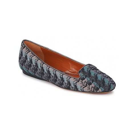 Missoni WM004 women's Loafers / Casual Shoes in Blue