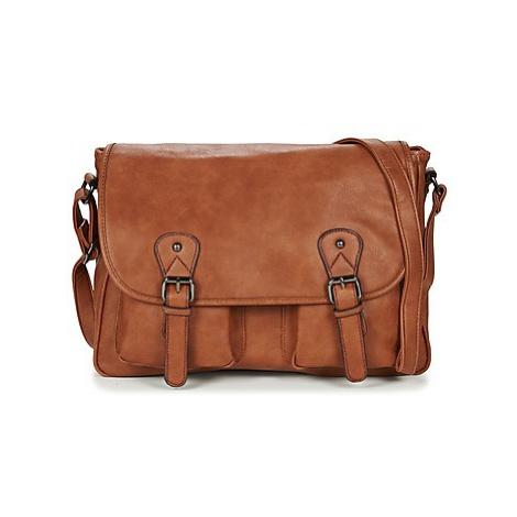 Casual Attitude NUDILE men's Messenger bag in Brown
