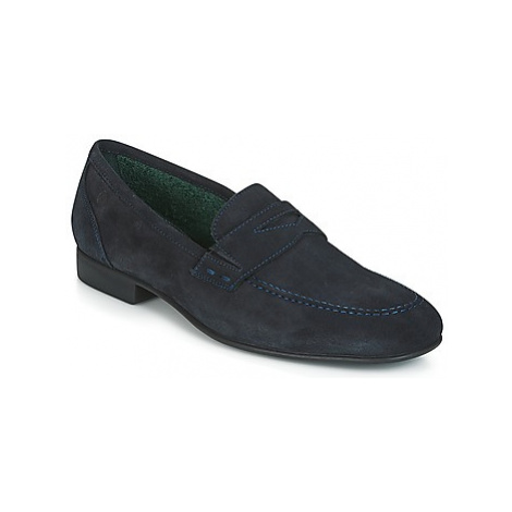 Carlington LOU men's Loafers / Casual Shoes in Blue