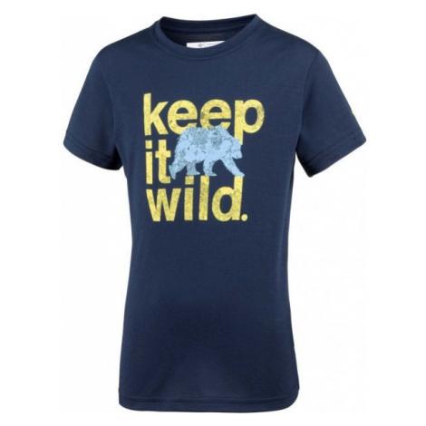 Columbia MINI RIDGE TEE dark blue - Children's T-shirt