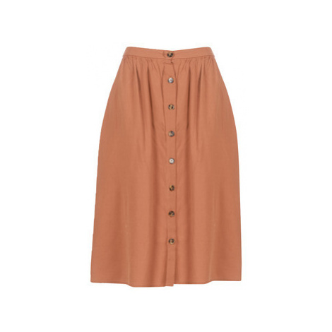 Betty London KATADELLE women's Skirt in Brown