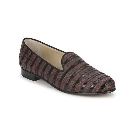 Etro FLORINDA women's Loafers / Casual Shoes in Brown