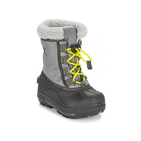 Sorel CHILDRENS CUMBERLAND girls's Children's Snow boots in Grey