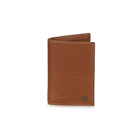 Serge Blanco CAMPANIA men's Purse wallet in Brown