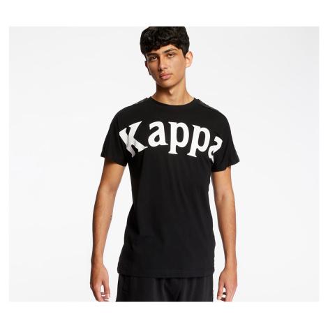 Kappa 222 Banda Cultin Tee Black/ White Antique