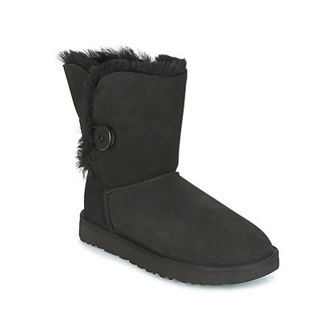 UGG BAILEY BUTTON II women's Mid Boots in Black