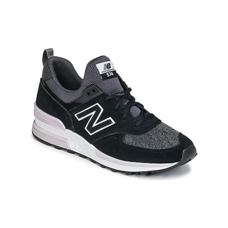 New Balance WS574 women's Shoes (Trainers) in Black