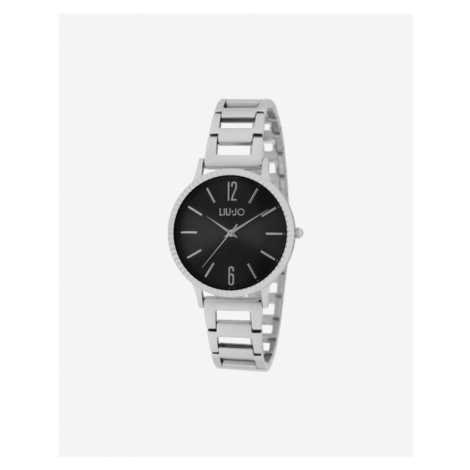 Liu Jo Biphasic Watches Black Silver