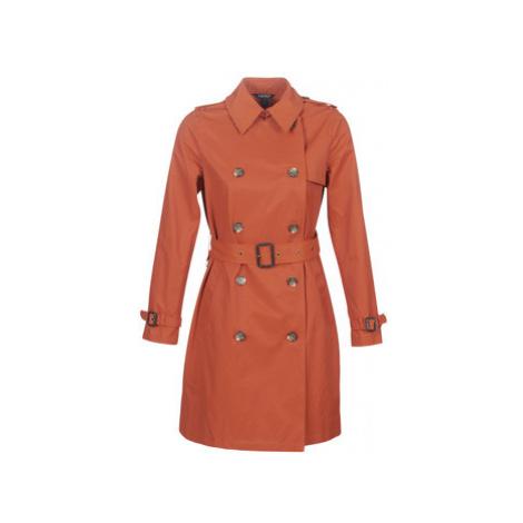 Lauren Ralph Lauren TRENCH PKTS women's Trench Coat in Orange