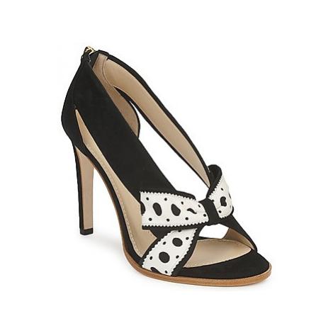 Moschino DELOS ESCA women's Court Shoes in Black