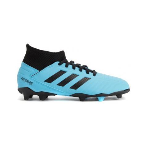 Adidas Predator 19.3 Firm Ground Football Boots - Blue - Kids