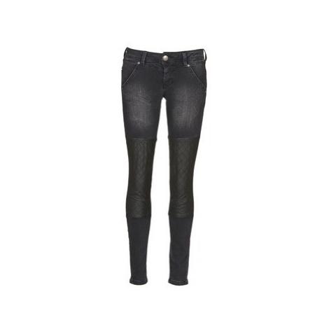 Freeman T.Porter DEKYA STRETCH women's Skinny Jeans in Black Freeman T. Porter