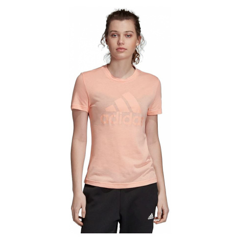 T-Shirt adidas Performance Must Haves Badge Of Sport - Glow Pink - women´s