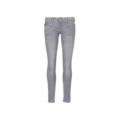 Freeman T.Porter Alexa Slim SDM women's Skinny Jeans in Grey Freeman T. Porter