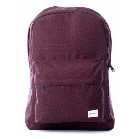 Spiral Chevron Backpack bag Burgundy