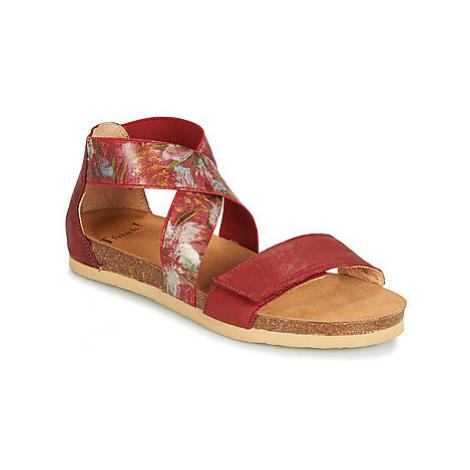 Think DUMO women's Sandals in Red