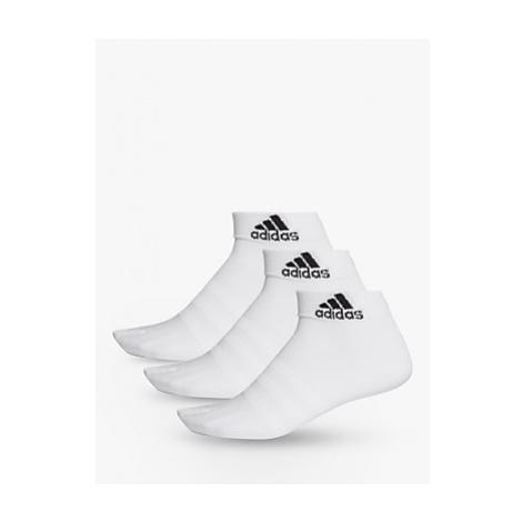 Adidas Light Training Ankle Socks, Pack of 3