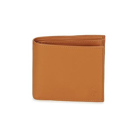 Polo Ralph Lauren PRL BIL COIN-WALLET-SMALL men's Purse wallet in Brown