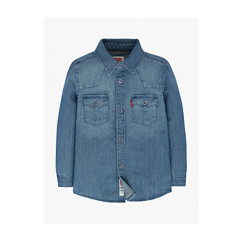 Levi's Boys' Barstow West Shirt, Blue Levi´s
